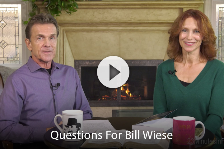 Questions For Bill Wiese